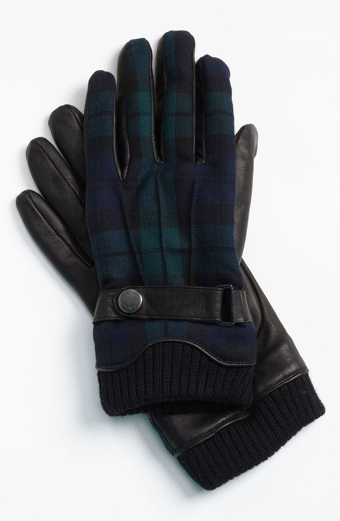 Main Image - BOSS Black 'Emilo' Leather Gloves