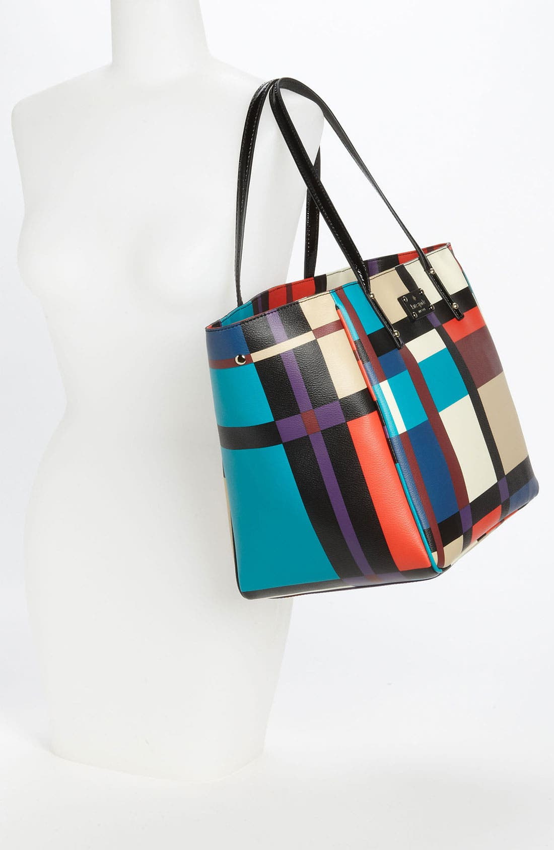Alternate Image 2  - kate spade new york 'perry street plaid - sidney' tote