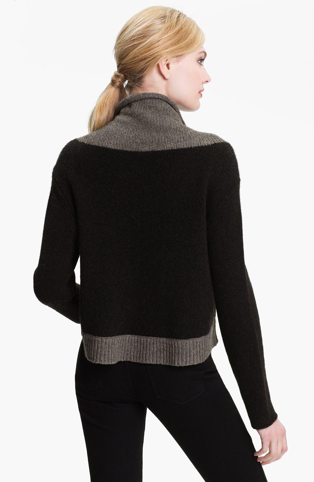 Alternate Image 2  - Eileen Fisher Funnel Neck Crop Sweater (Online Exclusive)