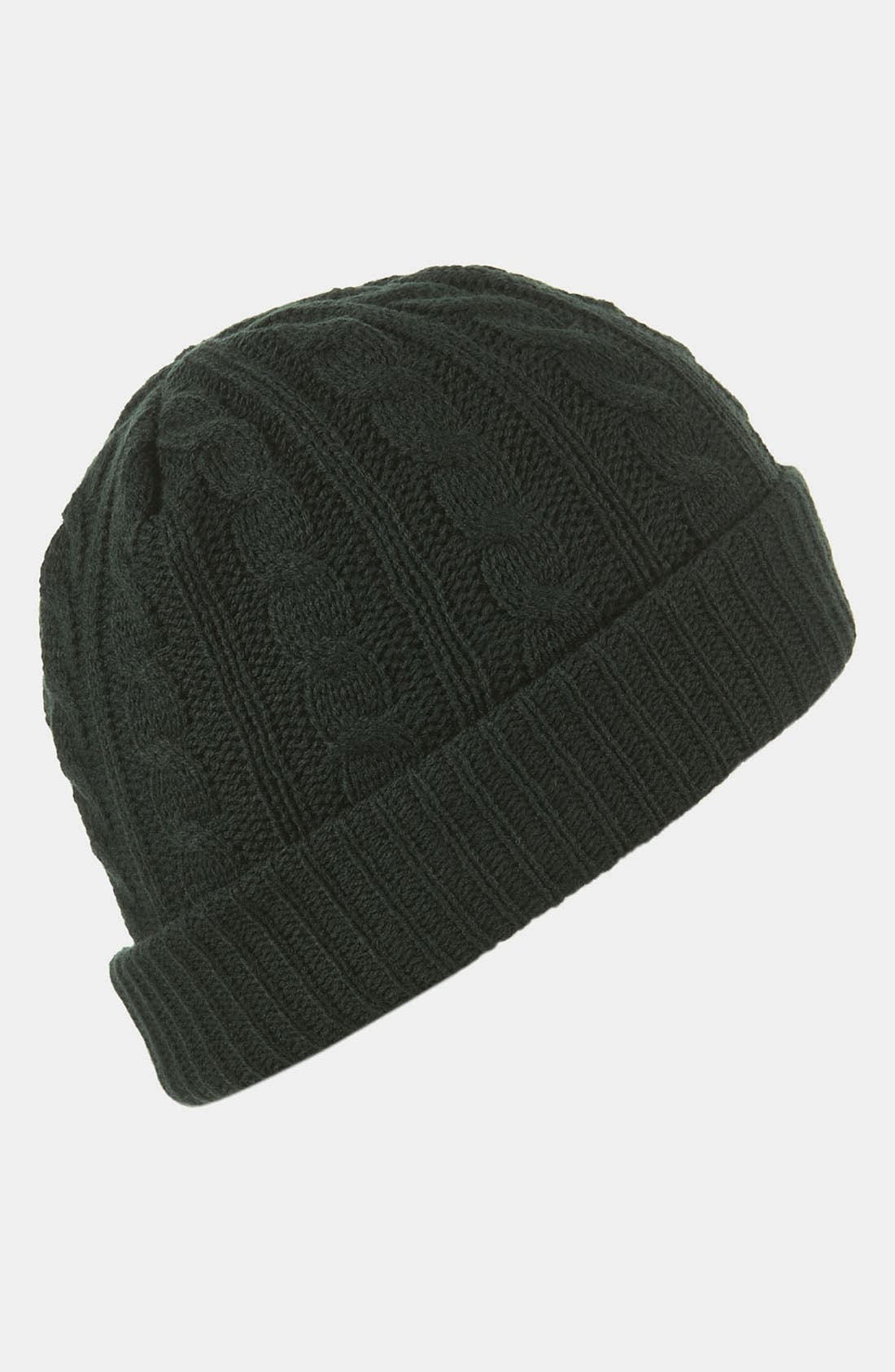 Alternate Image 1 Selected - Topman Cable Knit Cap