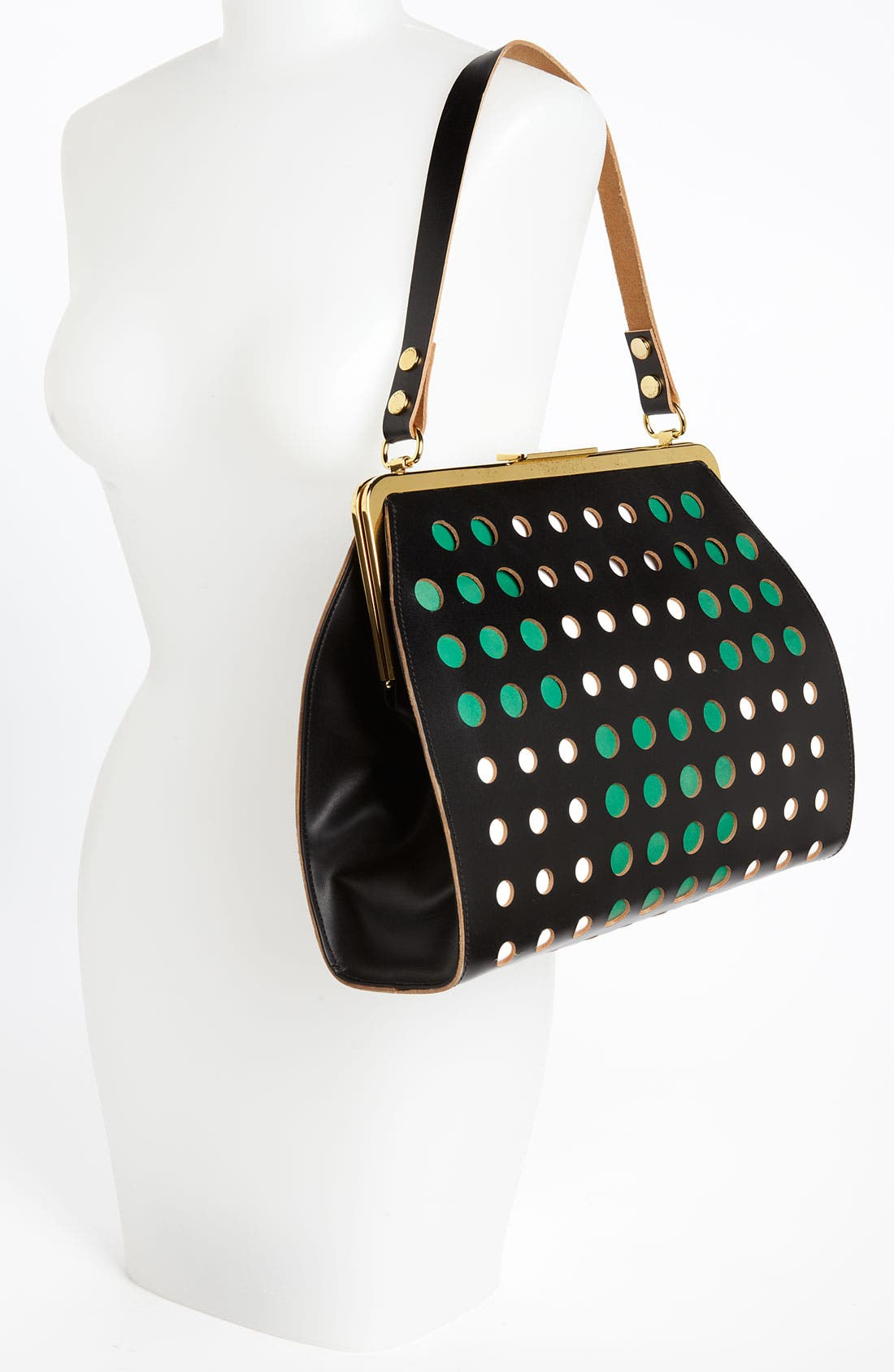 Alternate Image 2  - Marni Polka Dot Frame Handbag