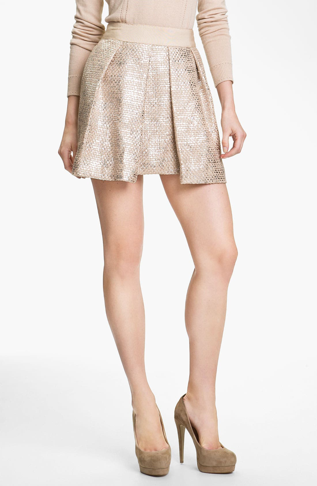 Alternate Image 1 Selected - Milly 'Naomi' Pleated Skirt