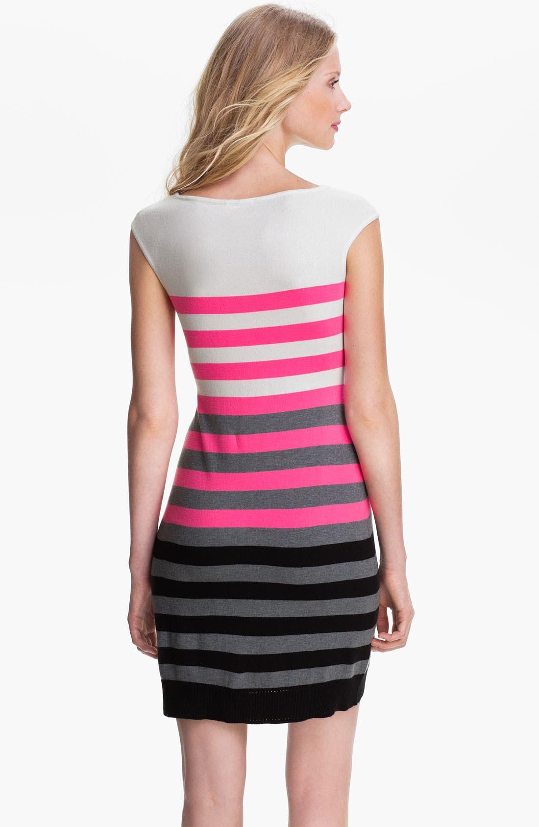 Alternate Image 2  - Milly Multi Stripe Shift Dress