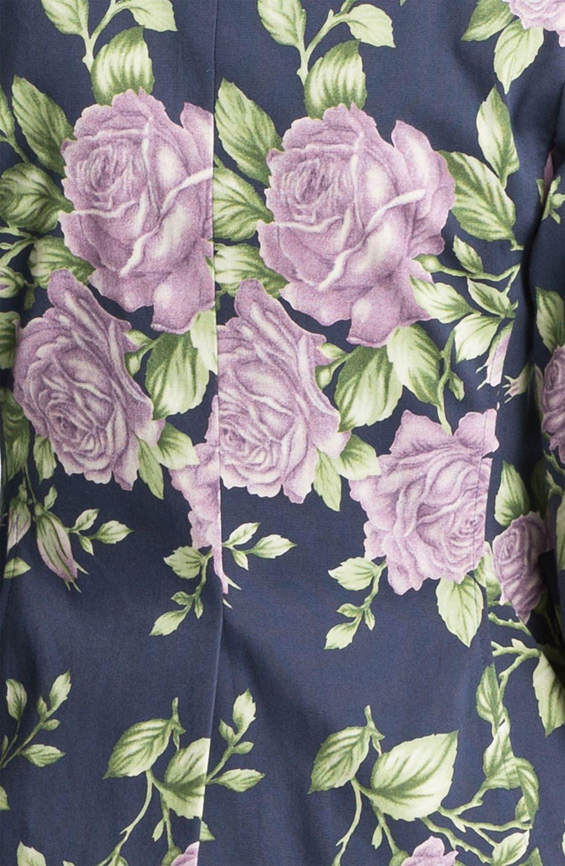Alternate Image 2  - rag & bone 'Bailey' Floral Print Jacket