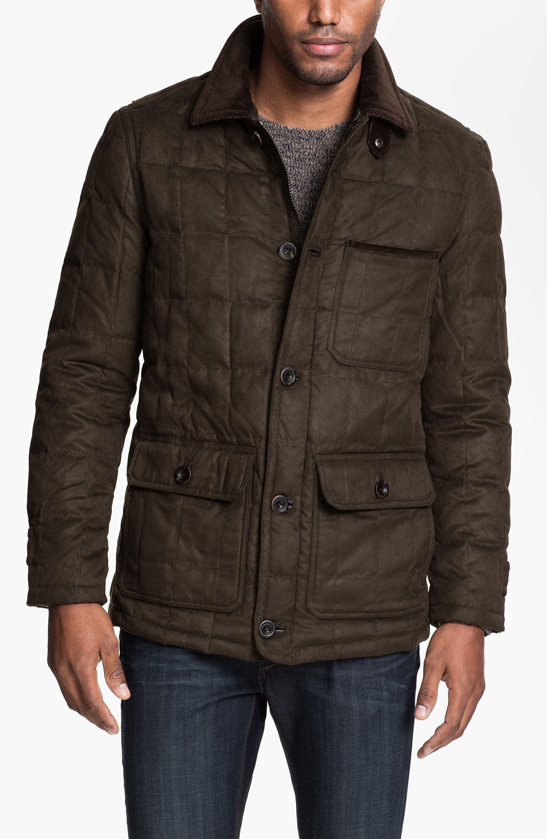 Alternate Image 1 Selected - RAINFOREST Quilted Down Jacket