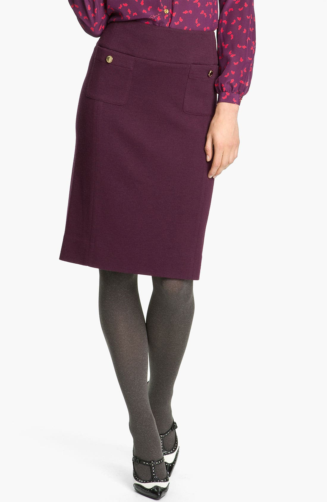Alternate Image 1 Selected - Tory Burch 'Anthea' Pencil Skirt