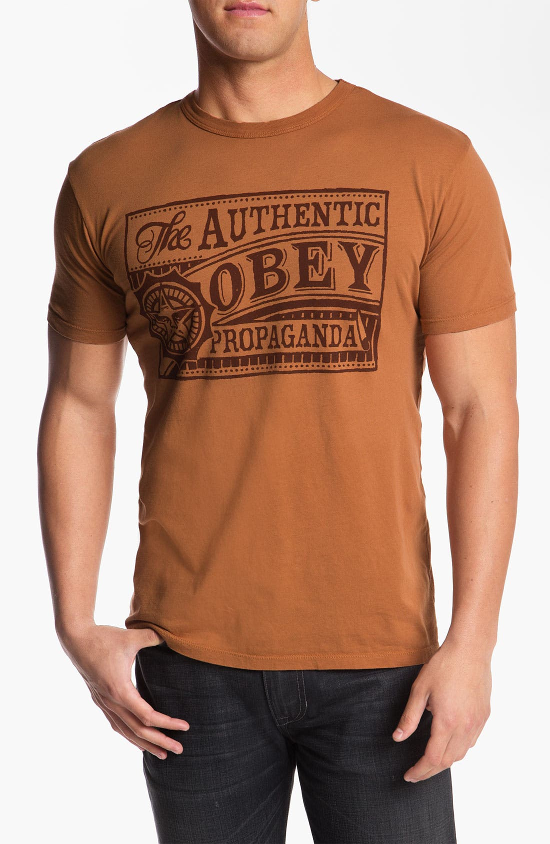 Alternate Image 1 Selected - Obey 'Authentic Obey' Graphic T-Shirt