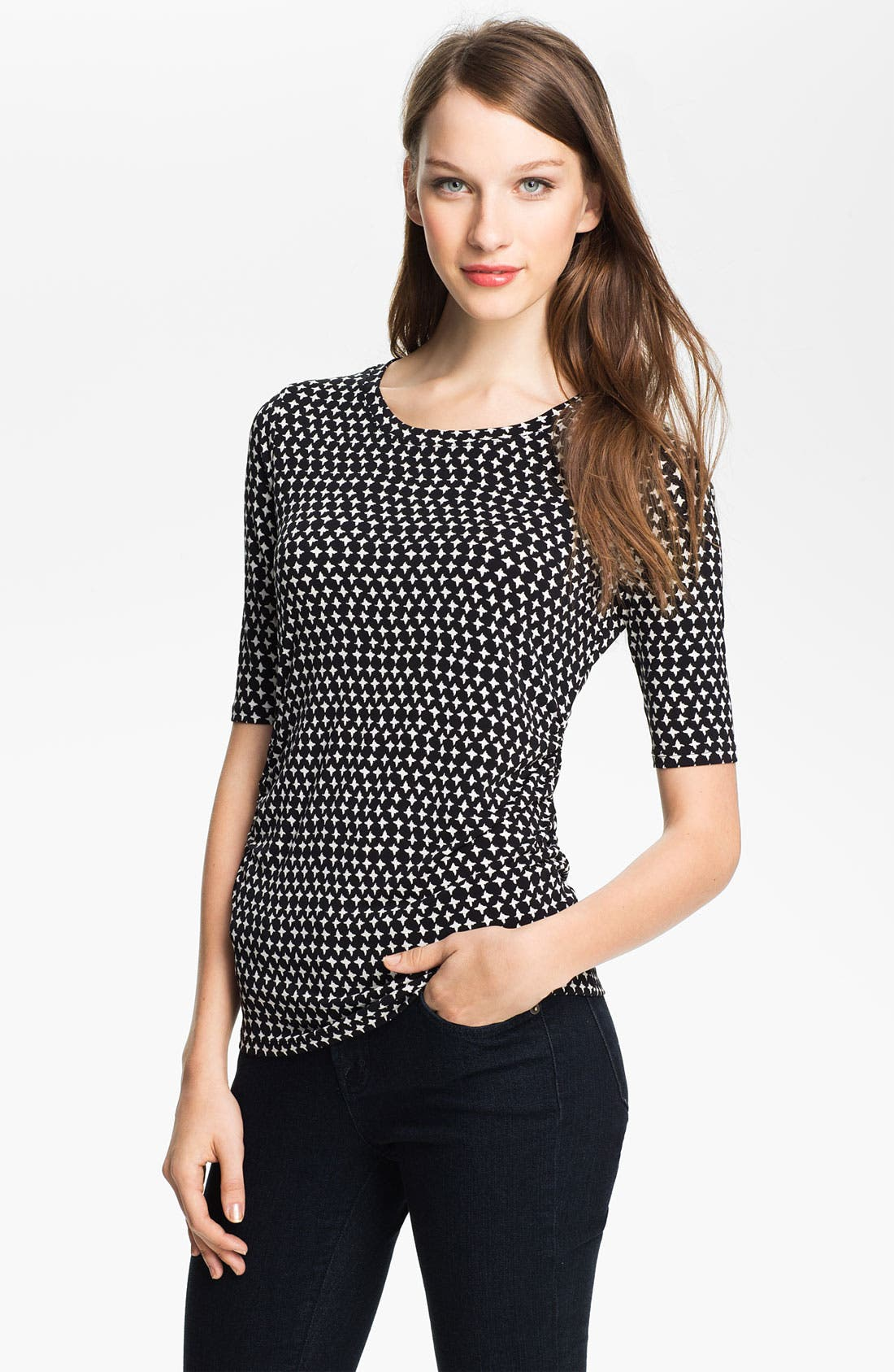 Main Image - Vince Camuto Star Print Top