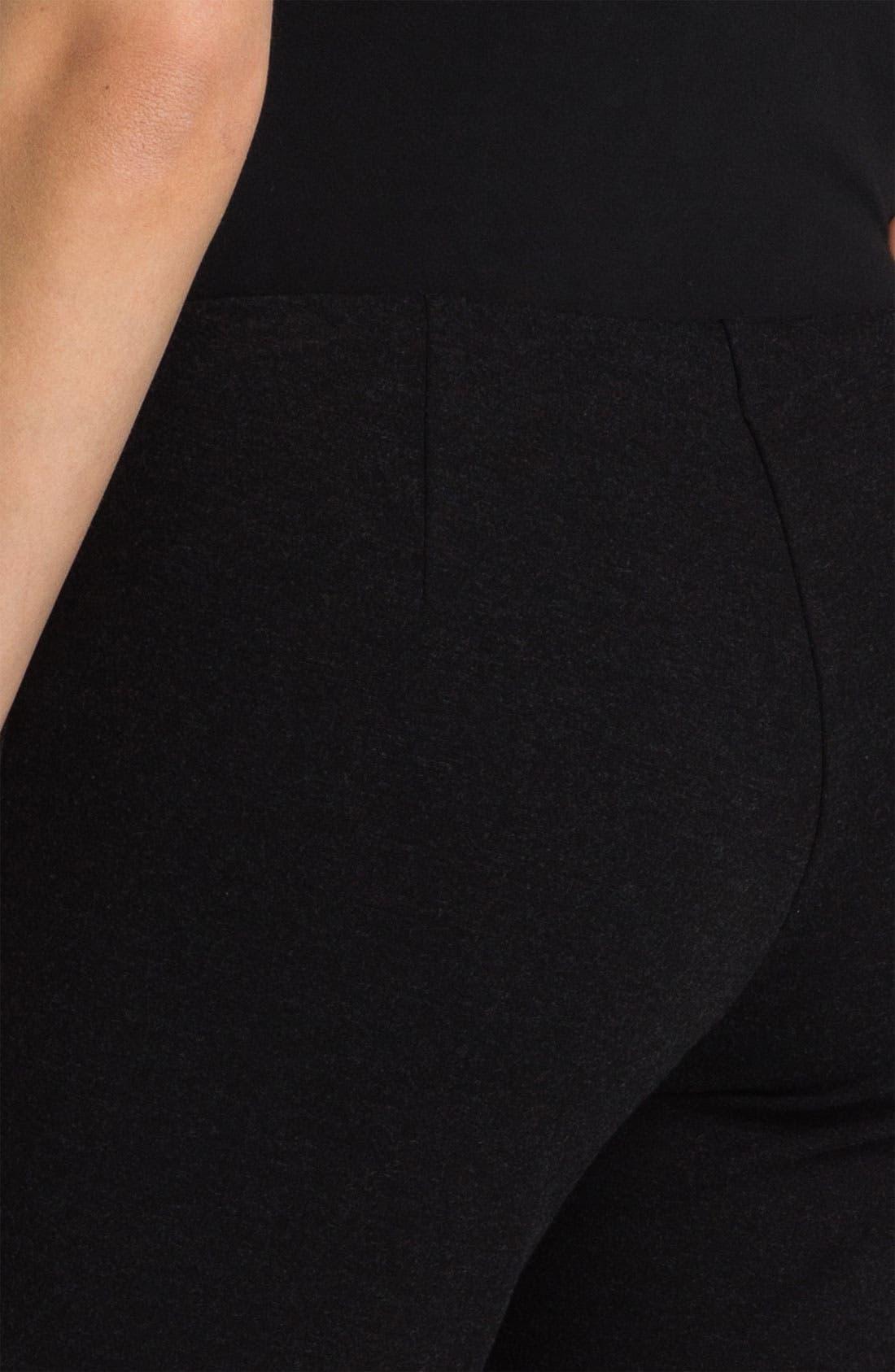 Alternate Image 3  - Eileen Fisher Slim Ponte Knit Pants (Petite)