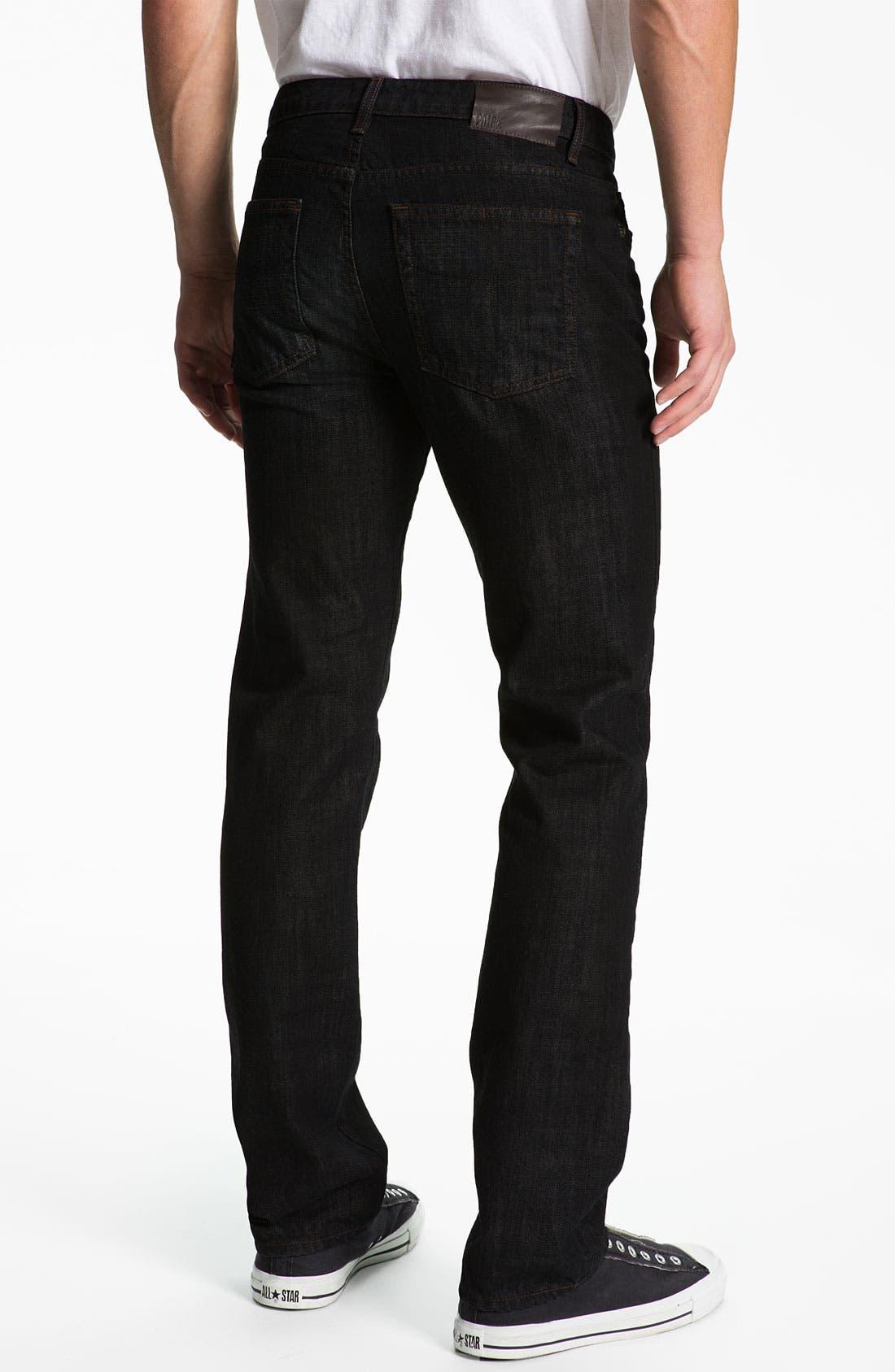 Main Image - PAIGE 'Normandie' Straight Leg Jeans (Alpha)