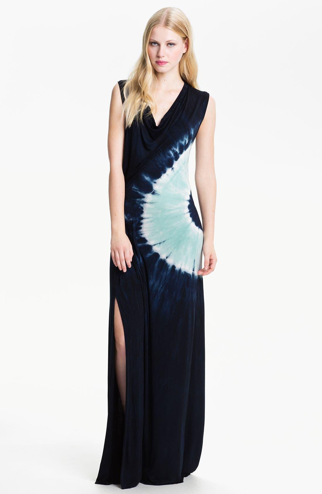 Main Image - Young, Fabulous & Broke 'Yoka' Tie Dye Maxi Dress