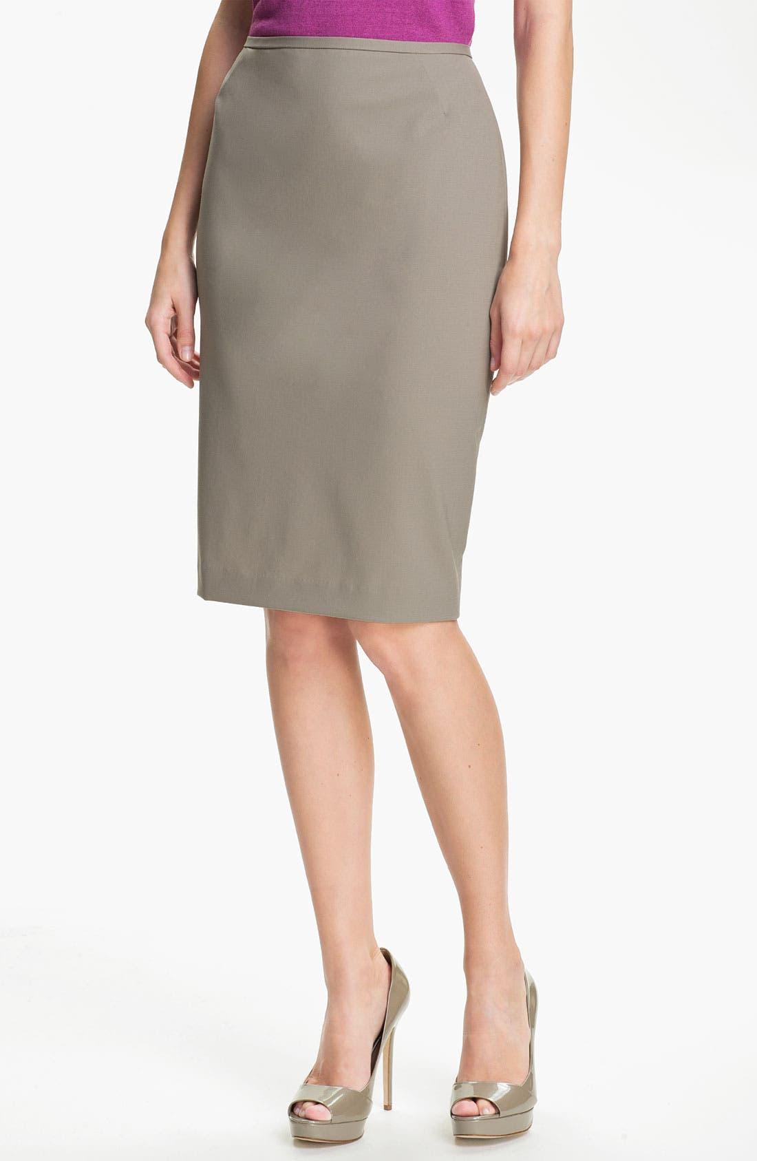 Alternate Image 1 Selected - Lafayette 148 New York 'Maxine' Skirt