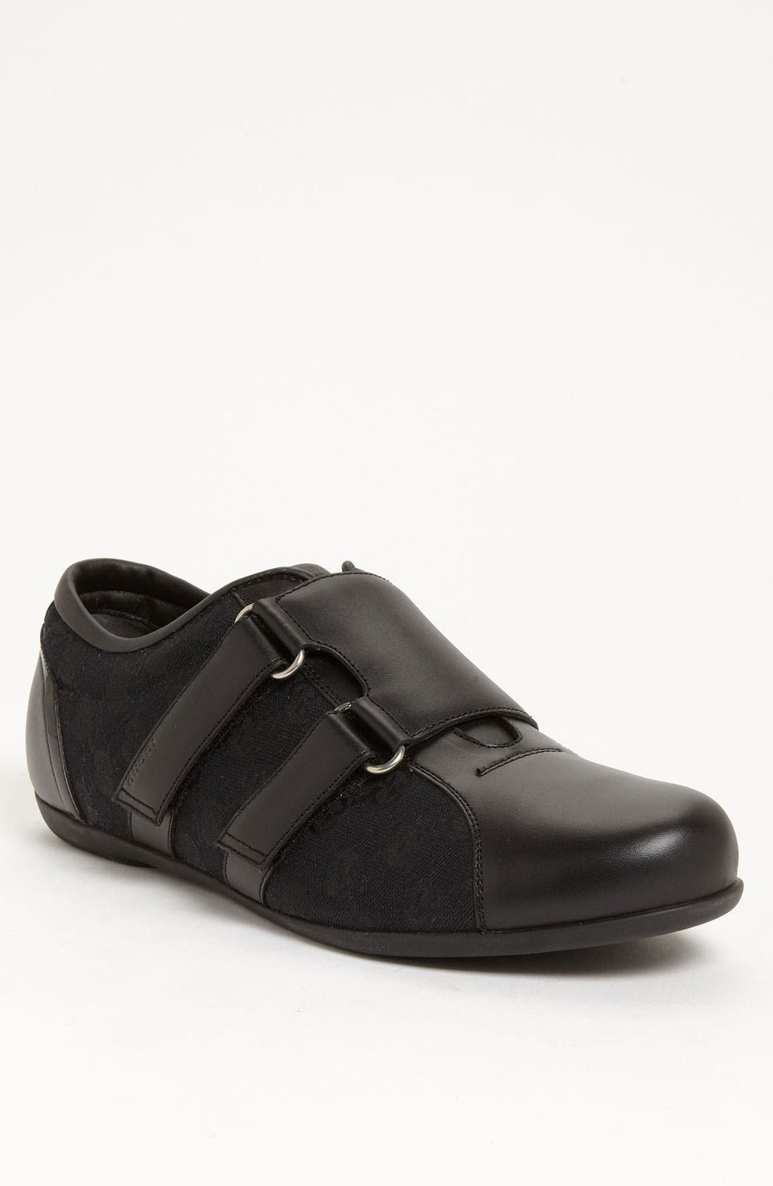 Alternate Image 1 Selected - Gucci 'Dragon' Double Monk Strap Sneaker