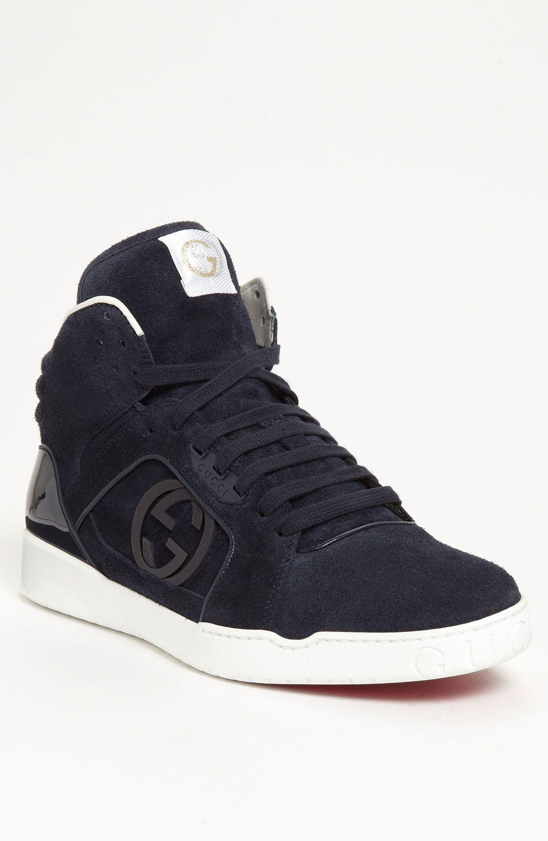 Alternate Image 1 Selected - Gucci 'Rebound Mid' Sneaker (Men)
