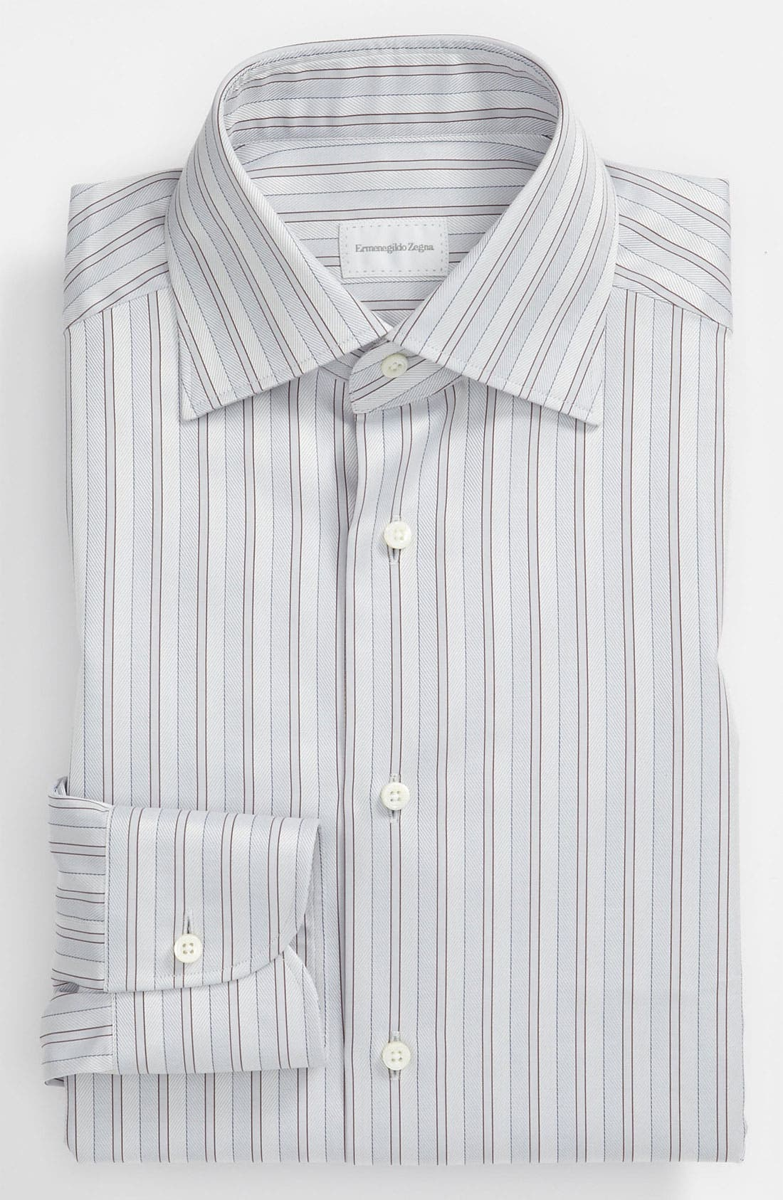 Alternate Image 1 Selected - Ermenegildo Zegna Regular Fit Dress Shirt