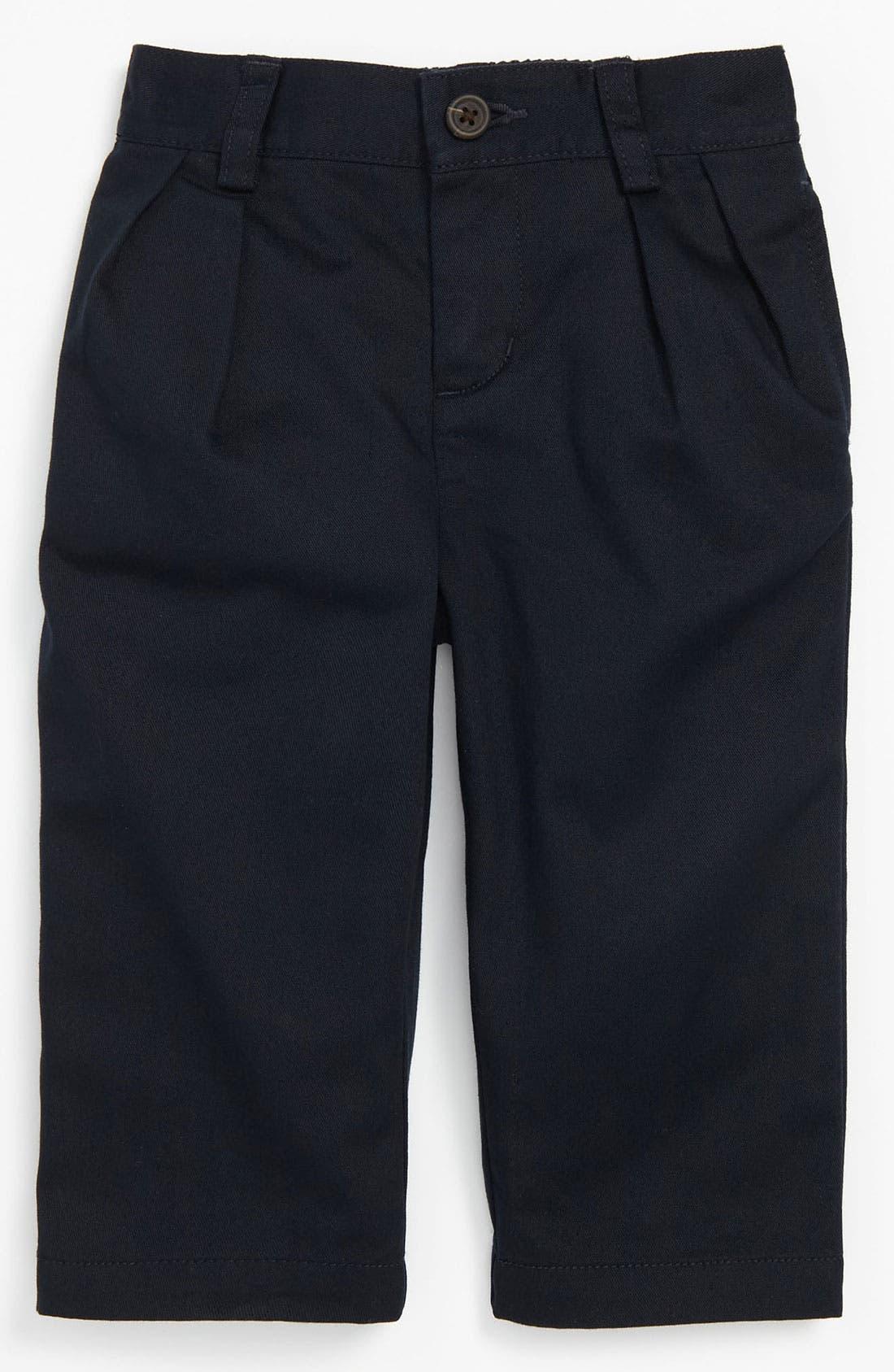 Alternate Image 2  - Ralph Lauren Pleated Pants (Baby)