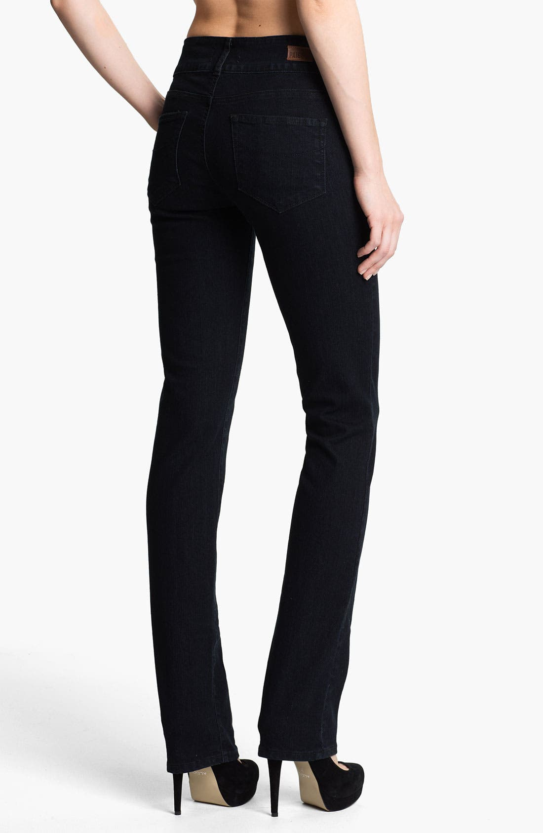 Alternate Image 2  - Paige Denim 'Hidden Hills' Straight Leg Stretch Jeans (Champion)