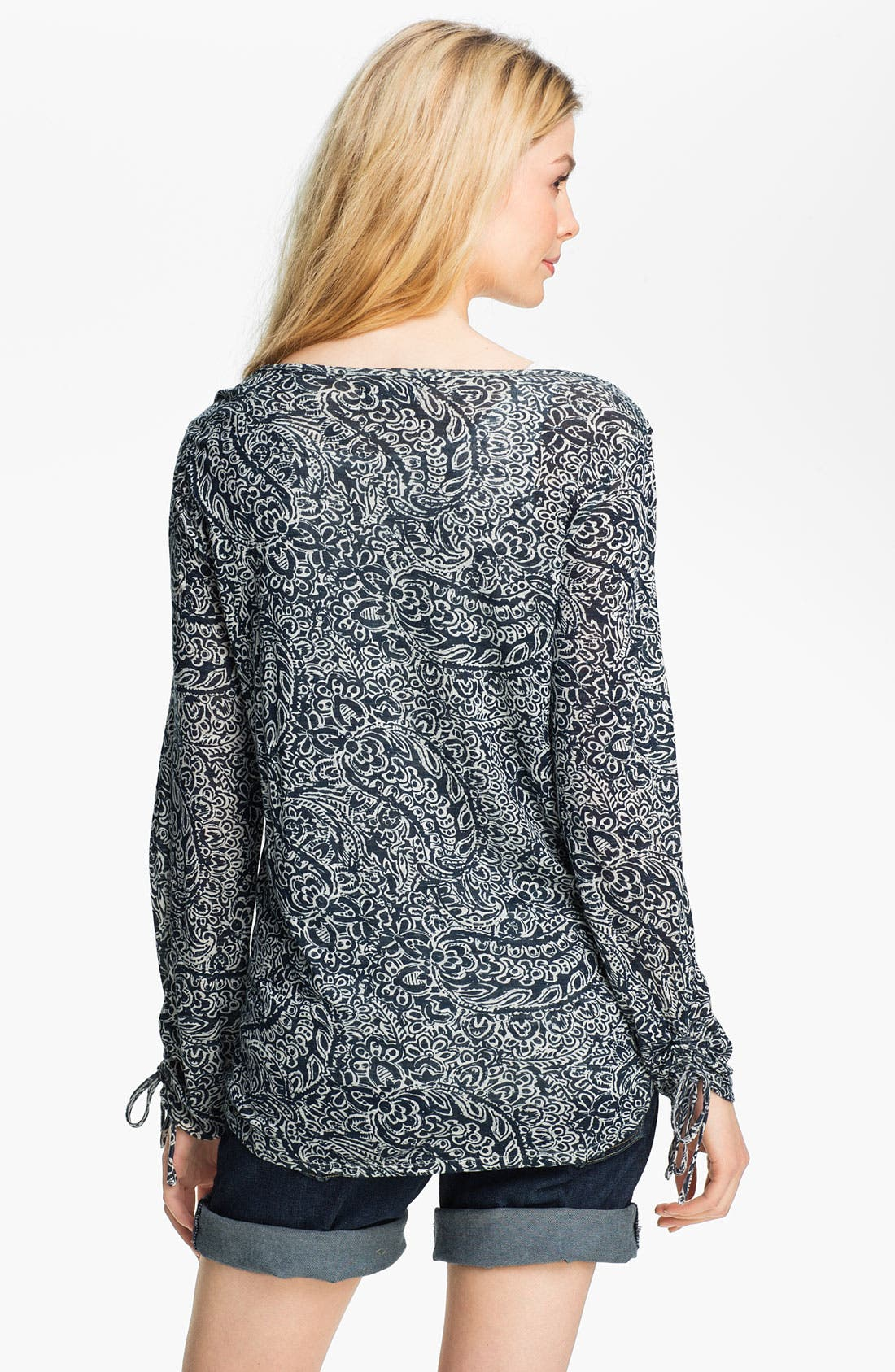 Alternate Image 2  - Lucky Brand 'Mika' Paisley Top