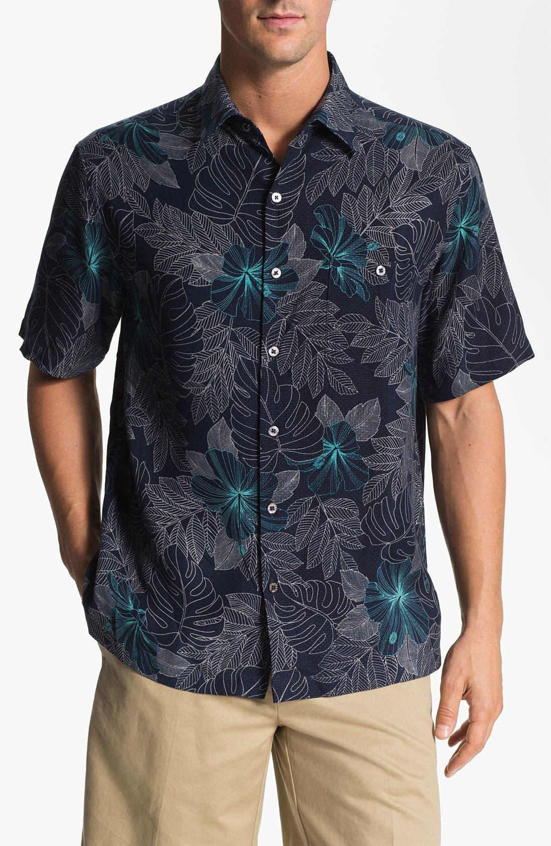 Main Image - Tori Richard 'Utopia' Silk Sport Shirt