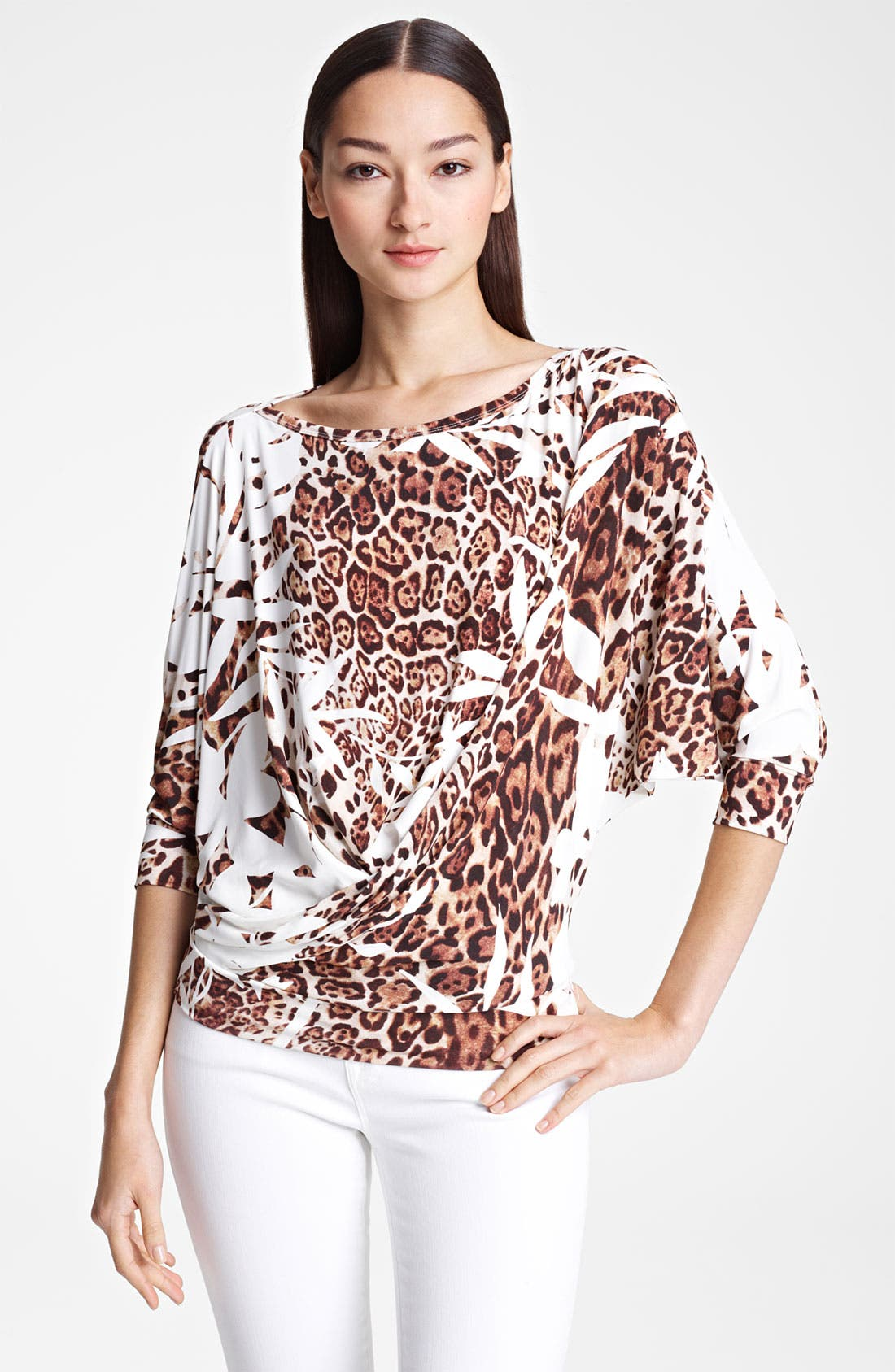 Alternate Image 1 Selected - Blumarine Dolman Sleeve Jersey Top