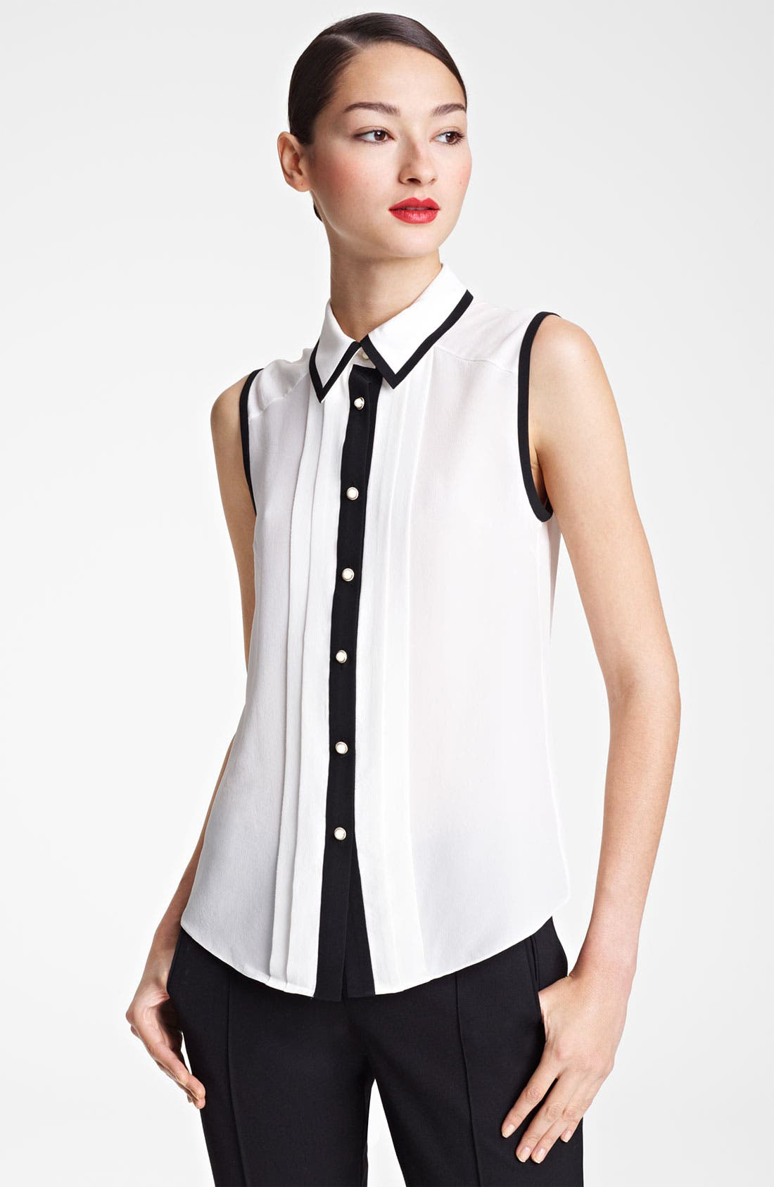 Main Image - Jason Wu Sleeveless Silk Blouse