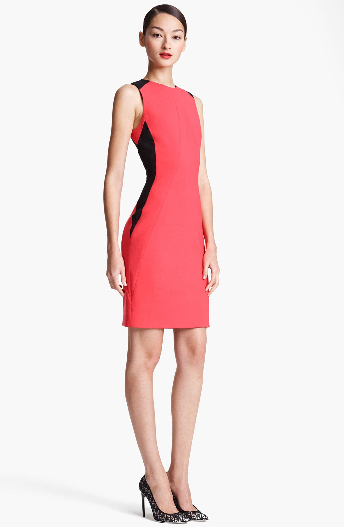 Main Image - Jason Wu Double Face Stretch Wool Sheath Dress