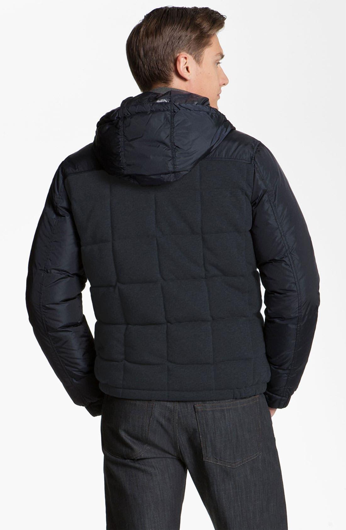 Alternate Image 2  - Moncler 'Antoine' Quilted Hooded Jacket