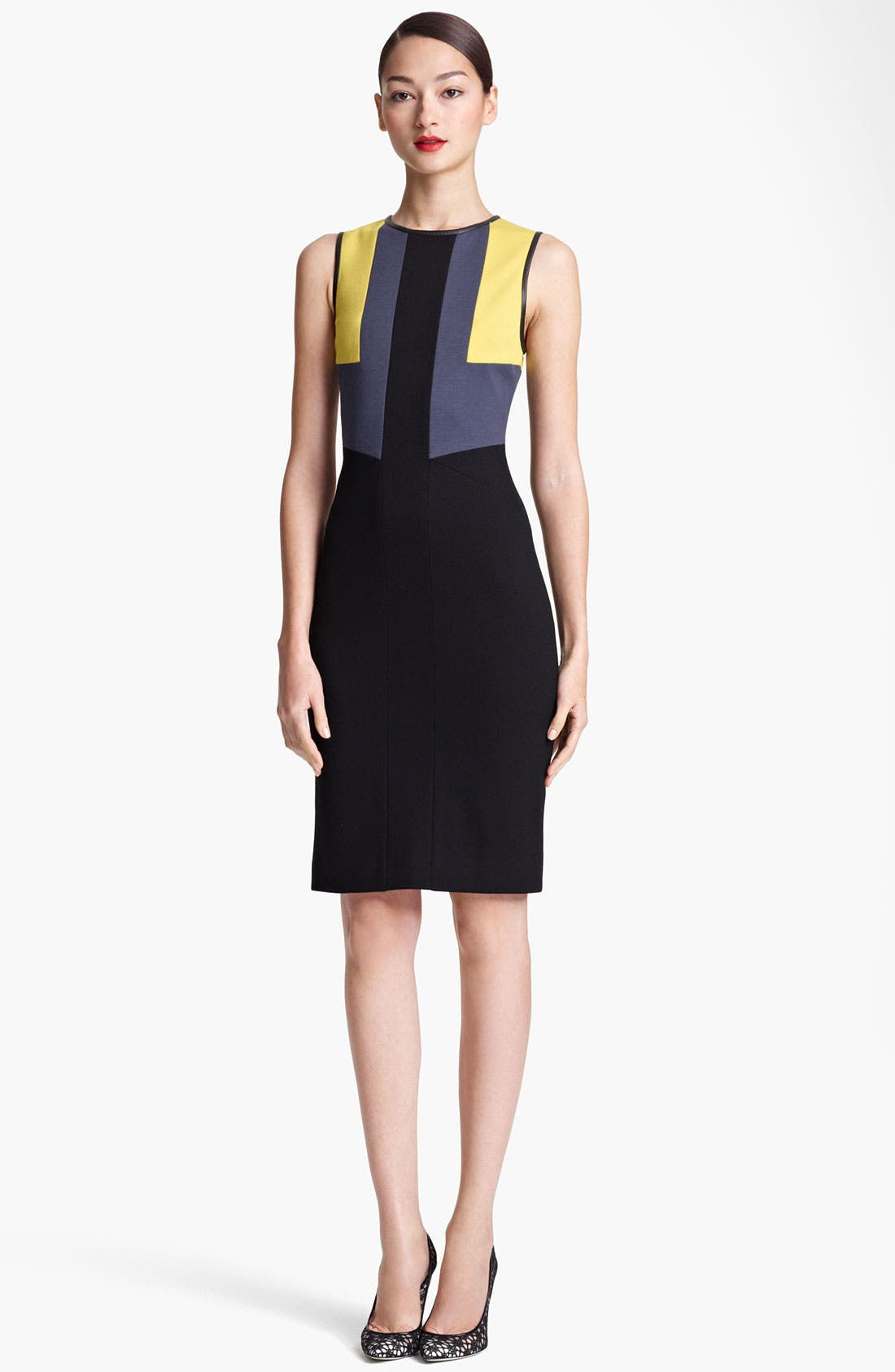 Main Image - Jason Wu Colorblock Sheath Dress
