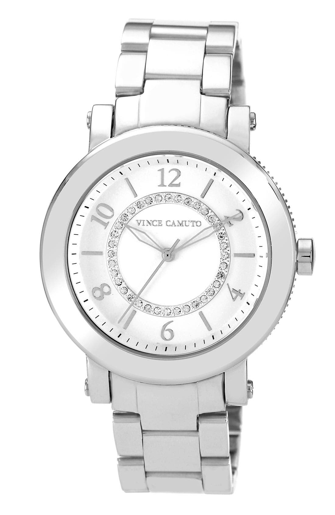 Alternate Image 1 Selected - Vince Camuto Round Bracelet Watch, 40mm