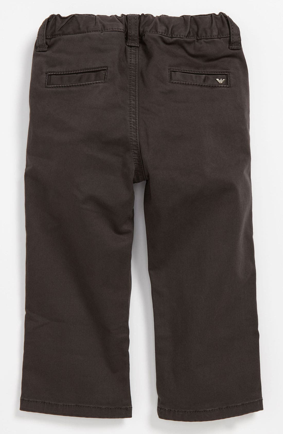 Alternate Image 1 Selected - Armani Junior Skinny Leg Pants (Infant)