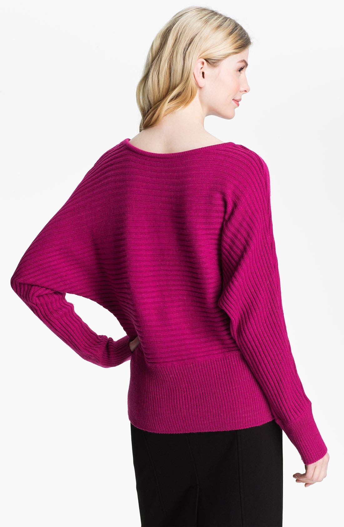 Alternate Image 2  - Fever Rib Knit Dolman Sweater