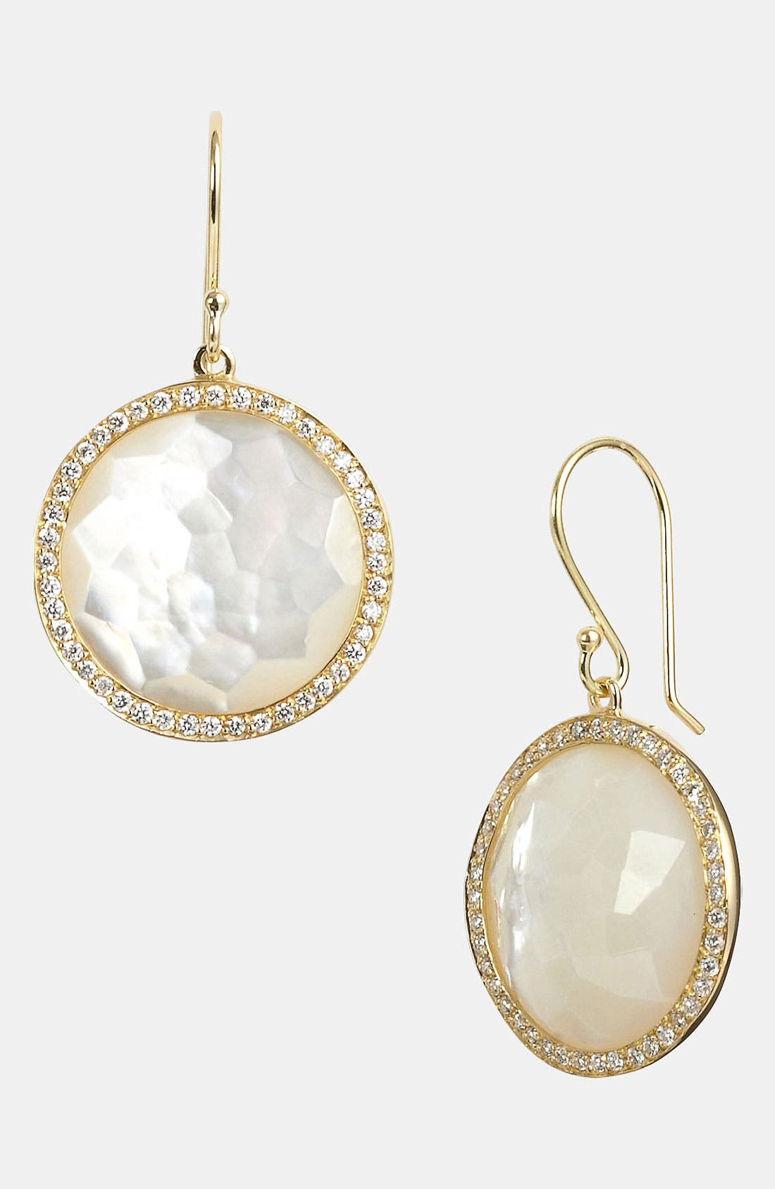 Alternate Image 1 Selected - Ippolita 'Rock Candy - Lollipop' Diamond & 18k Gold Drop Earrings