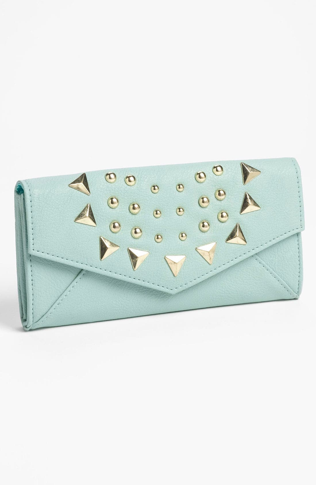 Alternate Image 1 Selected - Lulu Studded Envelope Wallet