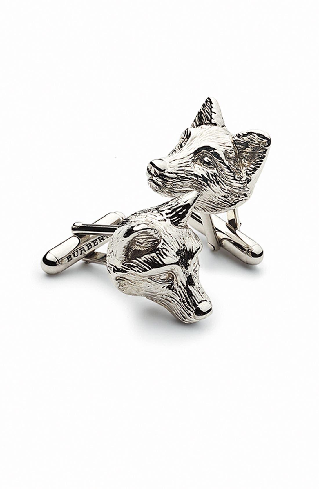 Alternate Image 2  - Burberry 'Fox' Cuff Links
