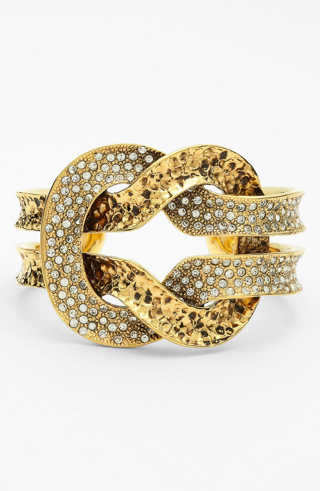 Alternate Image 1 Selected - St. John Collection Antique Gold Knot Cuff