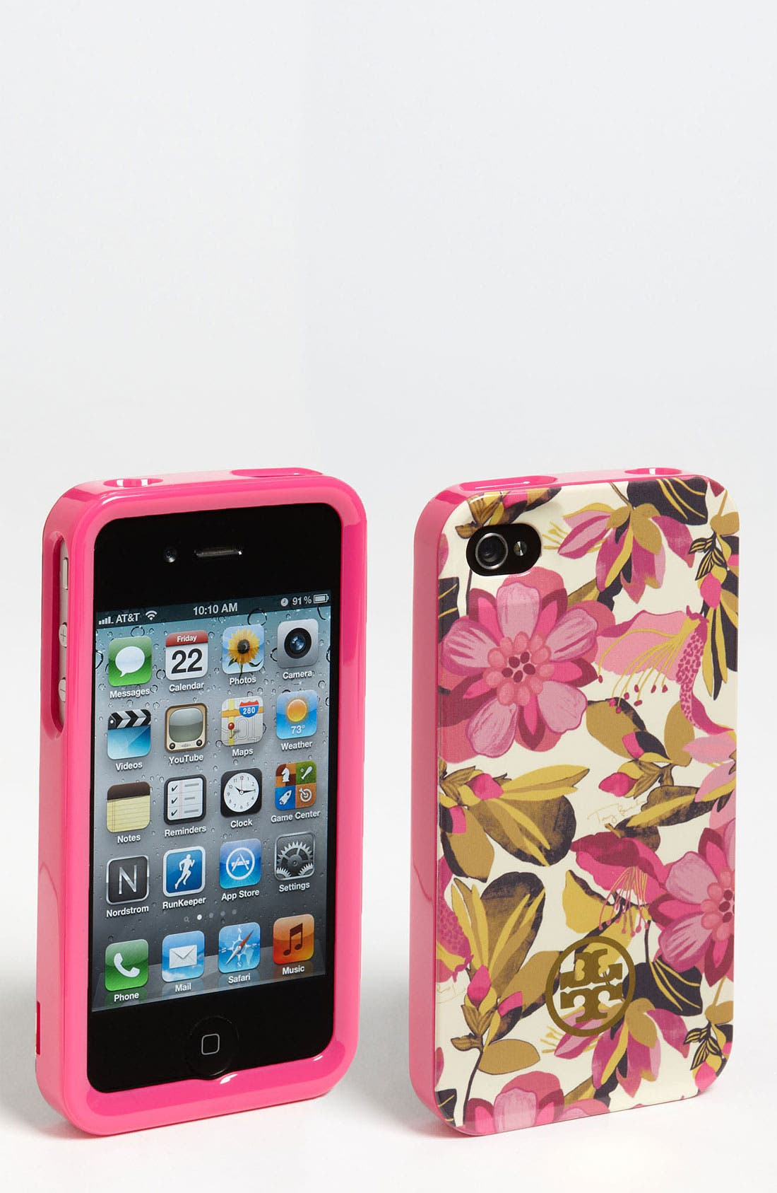 Main Image - Tory Burch 'Elandia' iPhone 4 & 4S Case