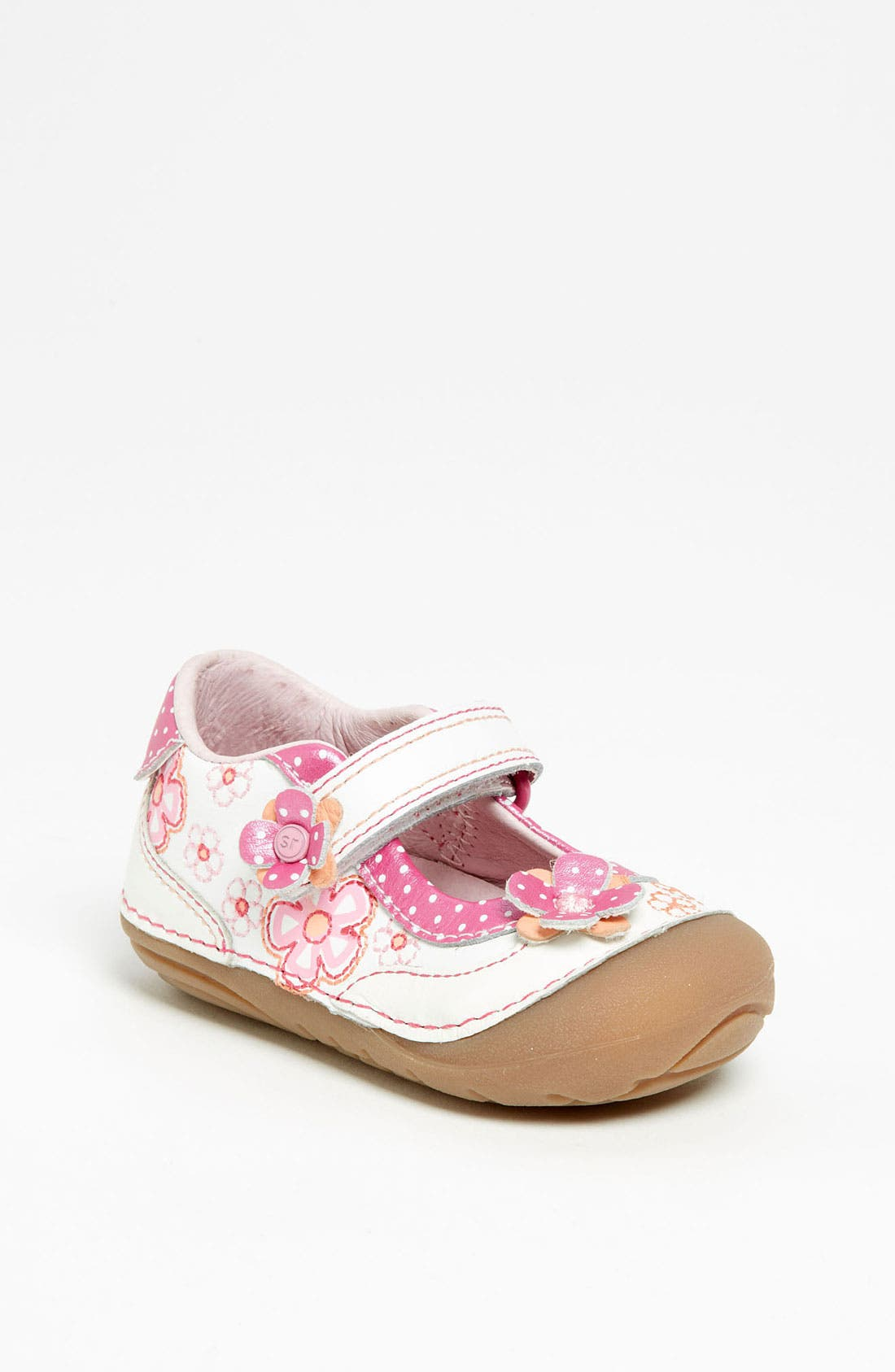 Alternate Image 1 Selected - Stride Rite 'Nancy' Mary Jane (Baby & Walker)