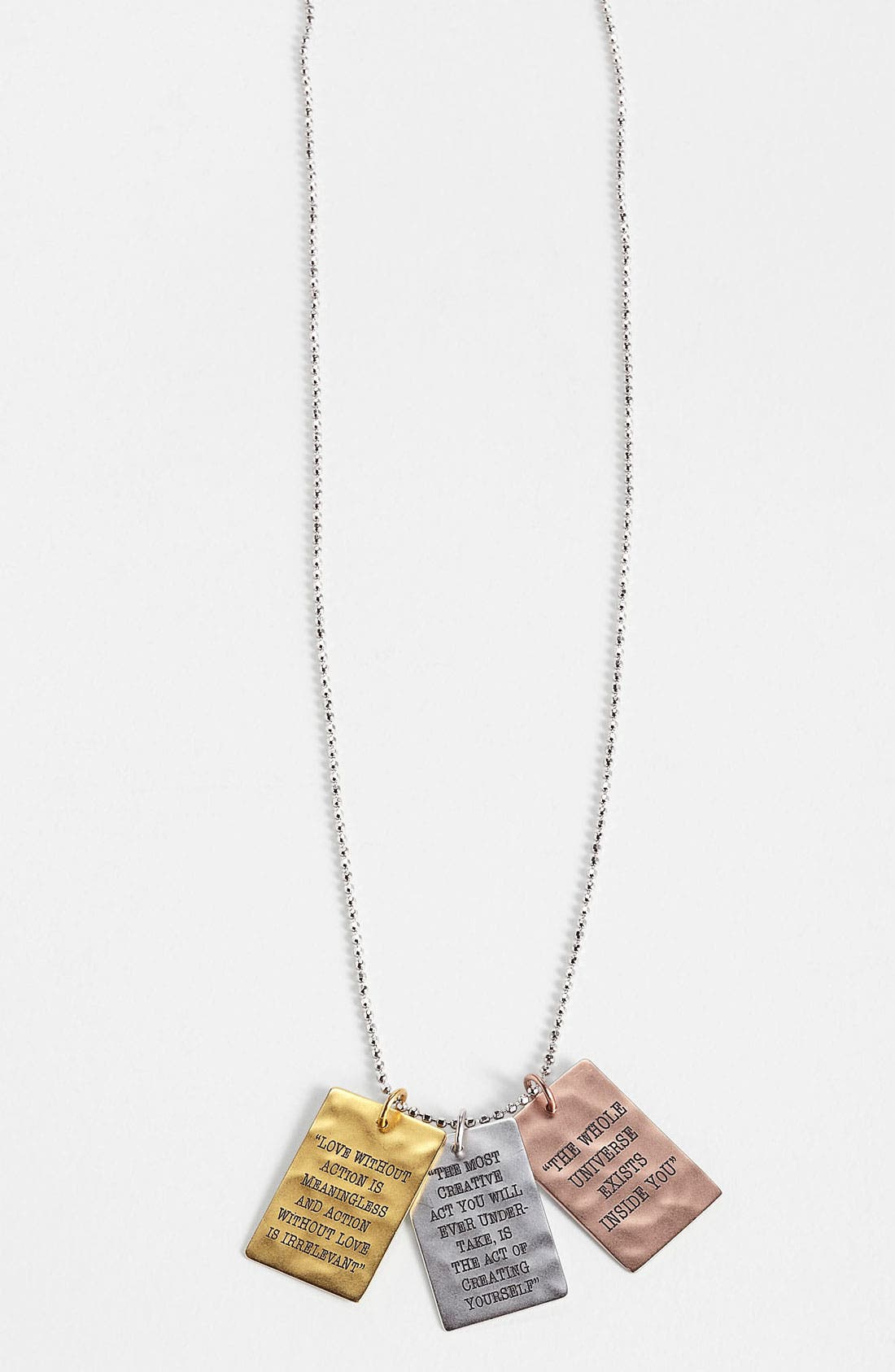 Alternate Image 2  - Rachel Roy & Deepak Chopra Pendant Necklace
