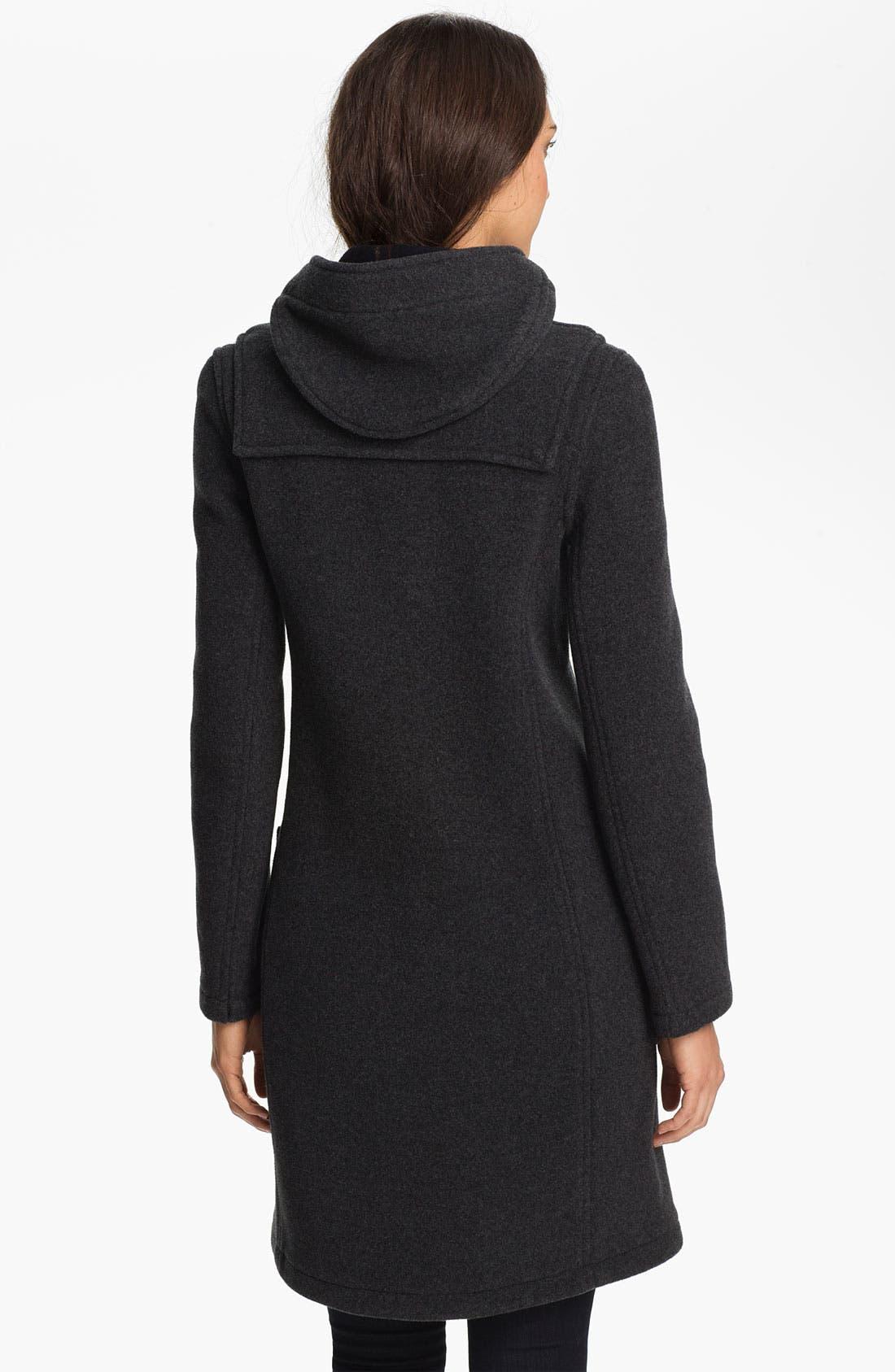 Alternate Image 2  - Gloverall Slim Fit Duffle Coat
