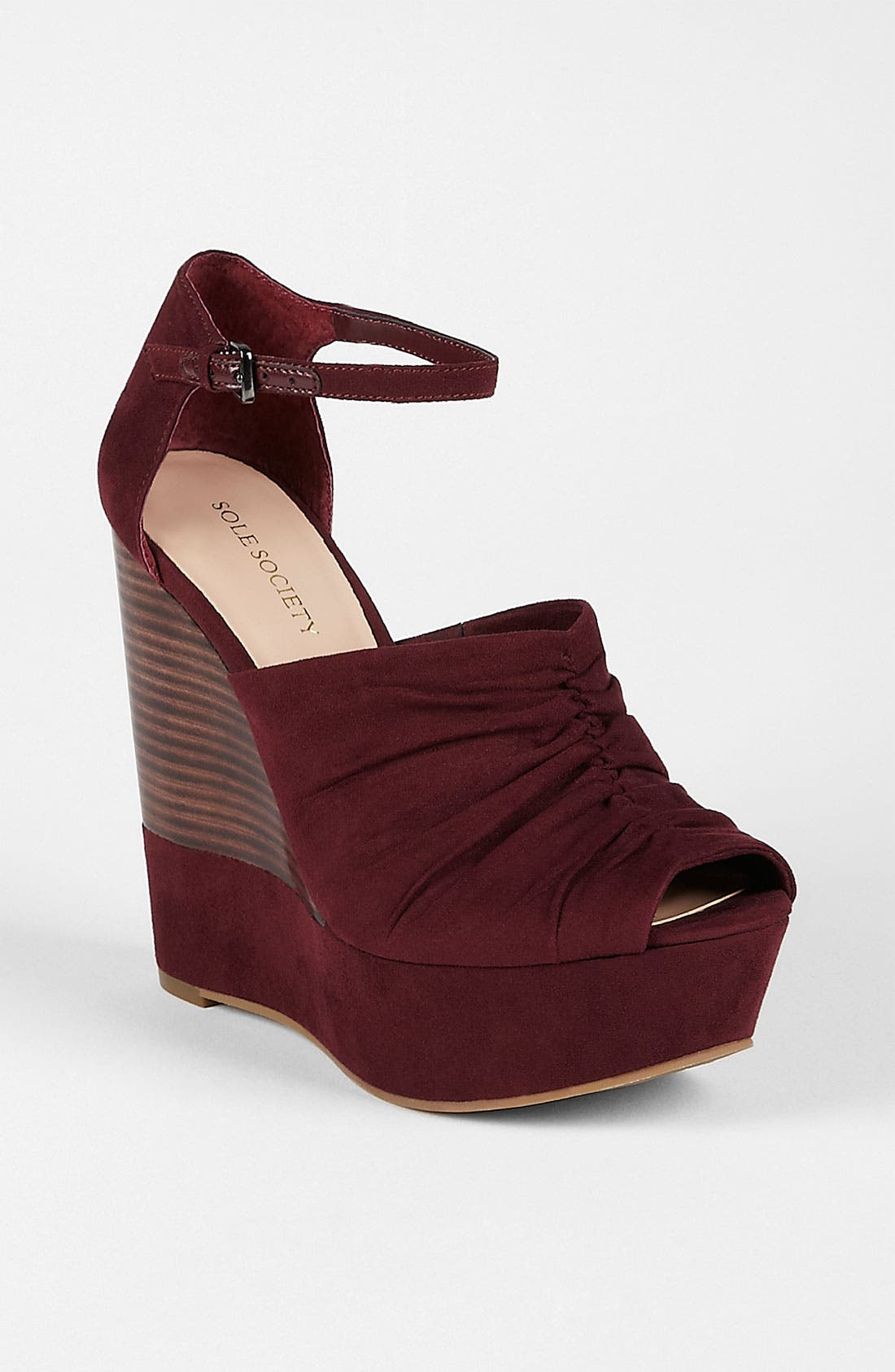 Main Image - Sole Society 'Becca' Wedge Sandal (Online Exclusive)