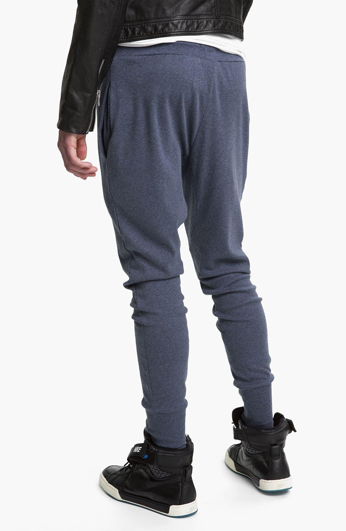 Alternate Image 2  - Topman 'Zane' Heather Cotton Lounge Pants