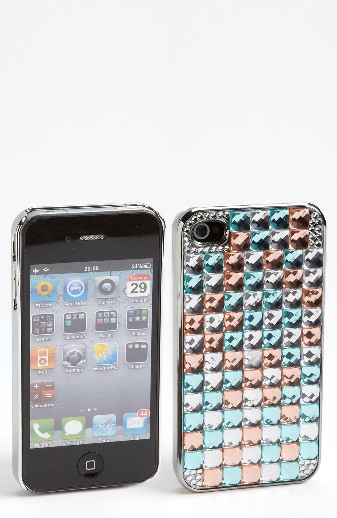 Main Image - BP. Rhinestone iPhone 4 & 4S Case