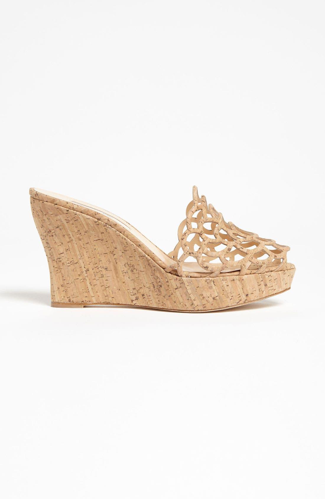 Alternate Image 4  - Oscar de la Renta 'Virma' Cork Sandal