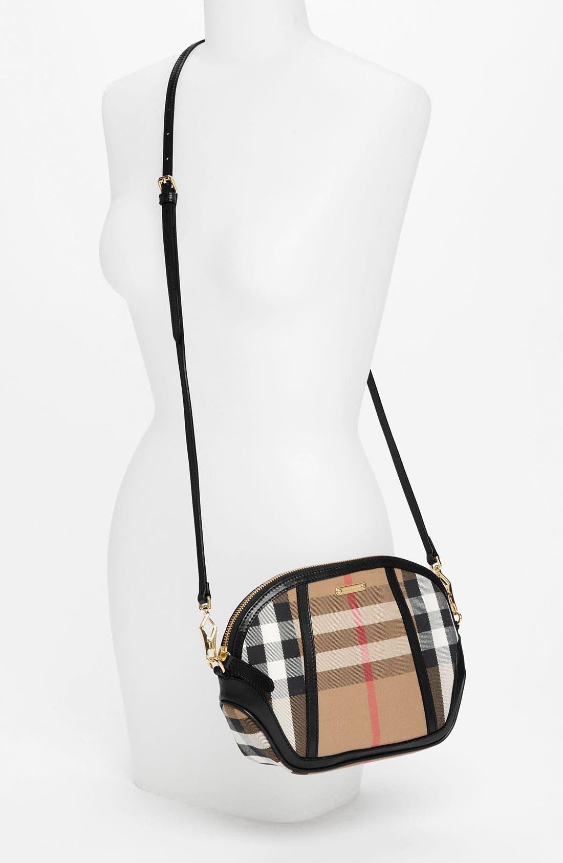Alternate Image 2  - Burberry 'House Check' Crossbody Bag, Small