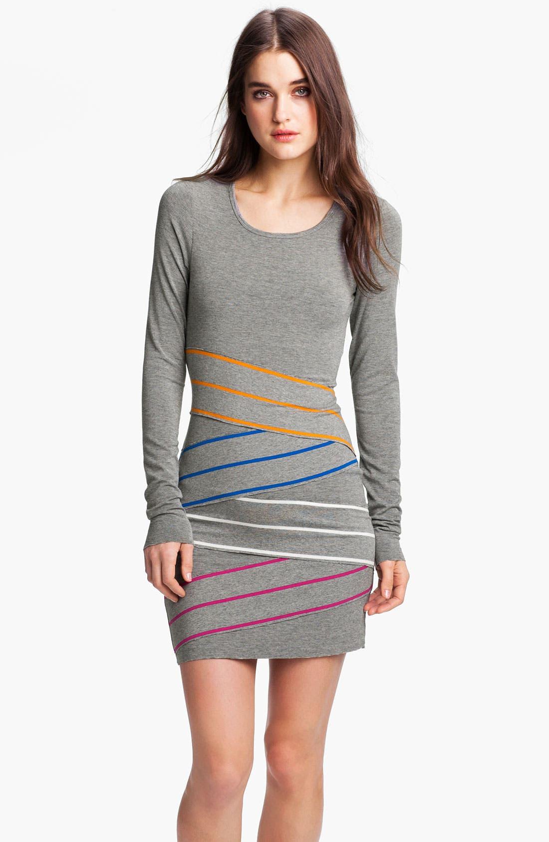 Alternate Image 1 Selected - B44 Dressed by Bailey 44 'Triathlon' Multi Stripe Jersey Dress