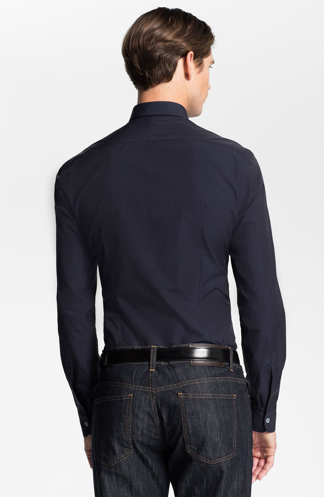 Alternate Image 2  - Salvatore Ferragamo Trim Fit Sport Shirt
