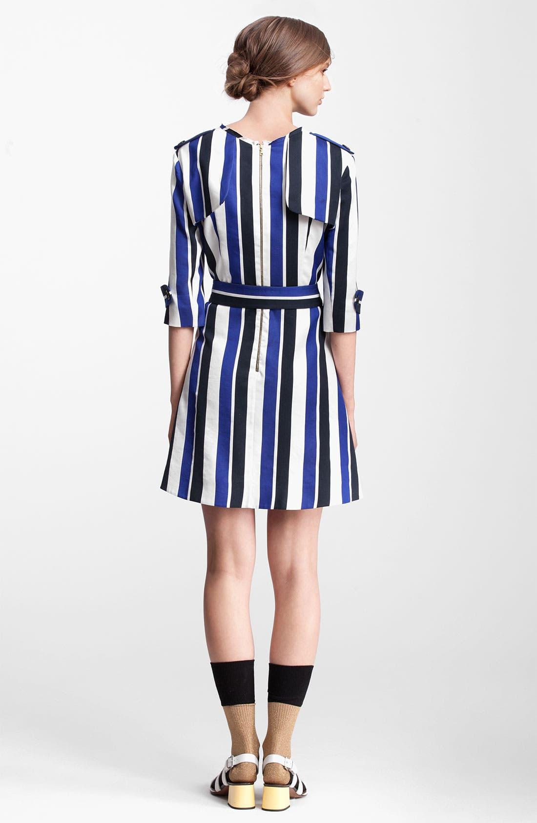 Alternate Image 2  - Marni Edition Belted Stripe Dress