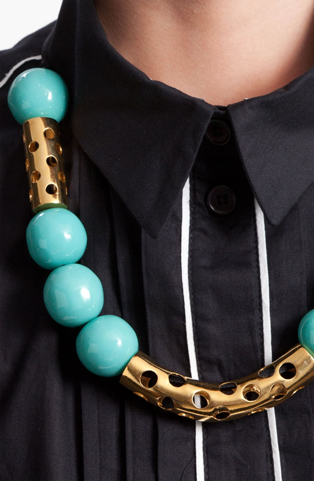 Alternate Image 2  - Marni Edition Bone & Metal Necklace
