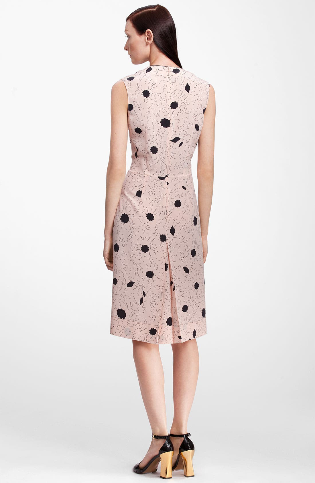 Alternate Image 2  - Marni Print Silk Dress