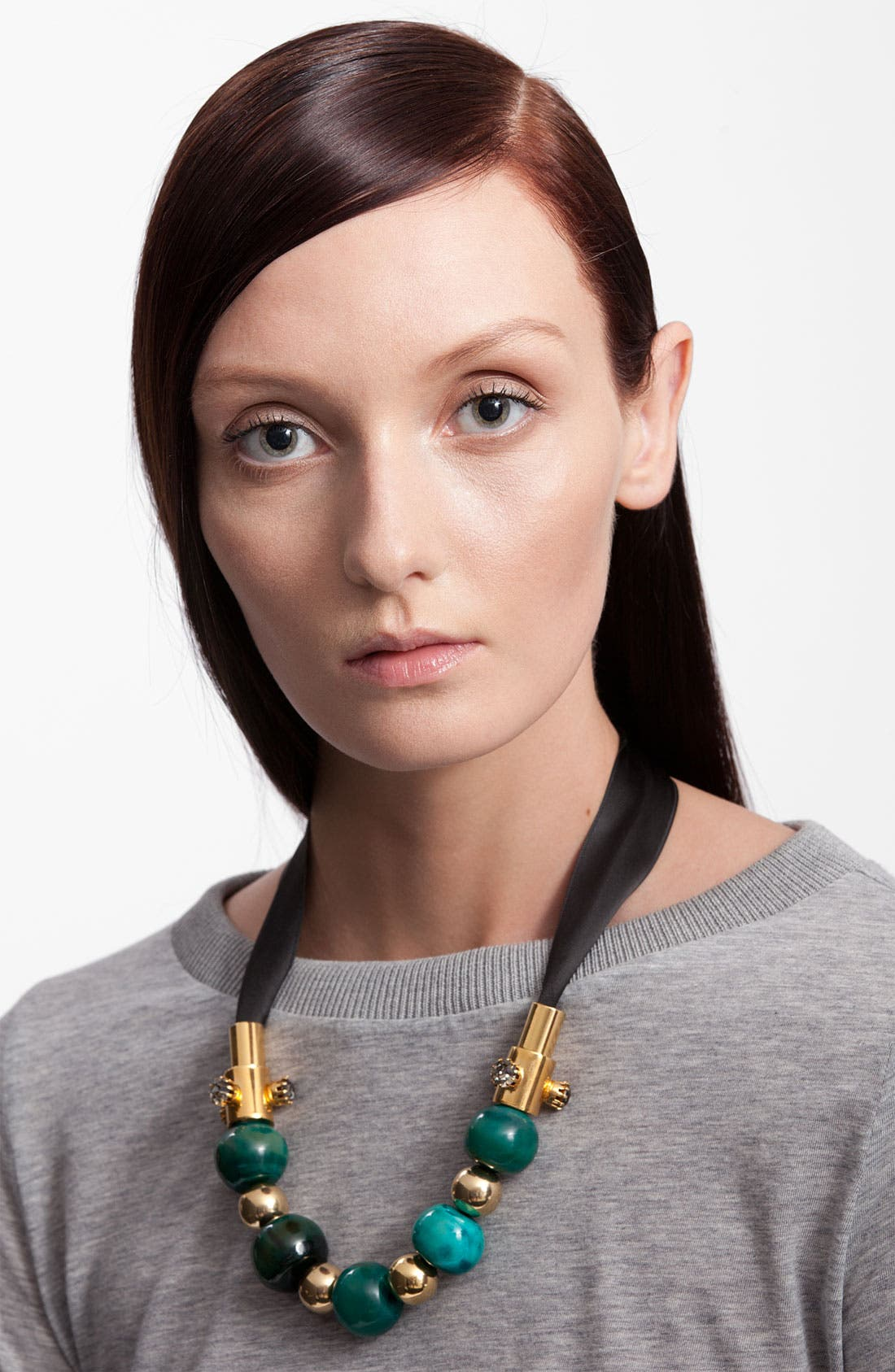 Alternate Image 1 Selected - Marni Horn & Metal Necklace